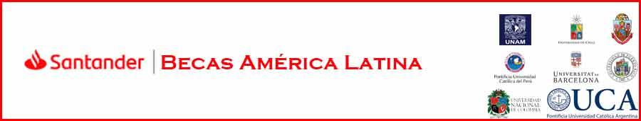 Becas Iberoamérica Santander para Estudiantes Internacionales (Latino América y España) | Becas para estudiar en 10 países de Latinoamérica y España | Estudia Gratis - Sitio Web Oficial - becas.org.es