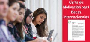 Carta de motivación para solicitar becas internacionales (Actualizado) | Estudia Gratis - Sitio Web Oficial - becas.org.es