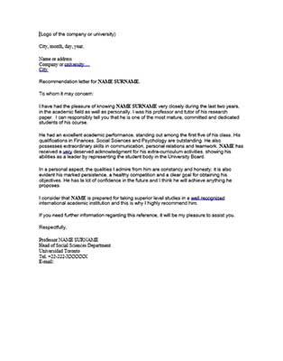¿Qué es y cómo hacer una carta de referencias? Recomendación para becas (Actualizado) | Plantilla carta de referencias en ingles | img 3 | Estudia Gratis - Sitio Web Oficial - becas.org.es