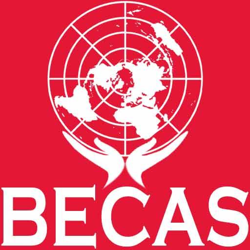 Becas Internacionales | Estudia gratis en el extranjero con una beca todo pagado | Logo | Sitio Web Oficial - becas.org.es
